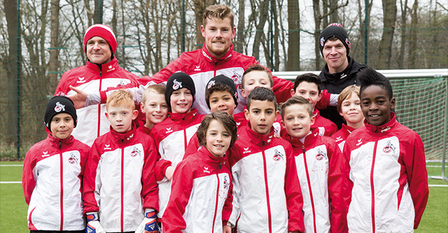Weltkindertag mit Timo Horn